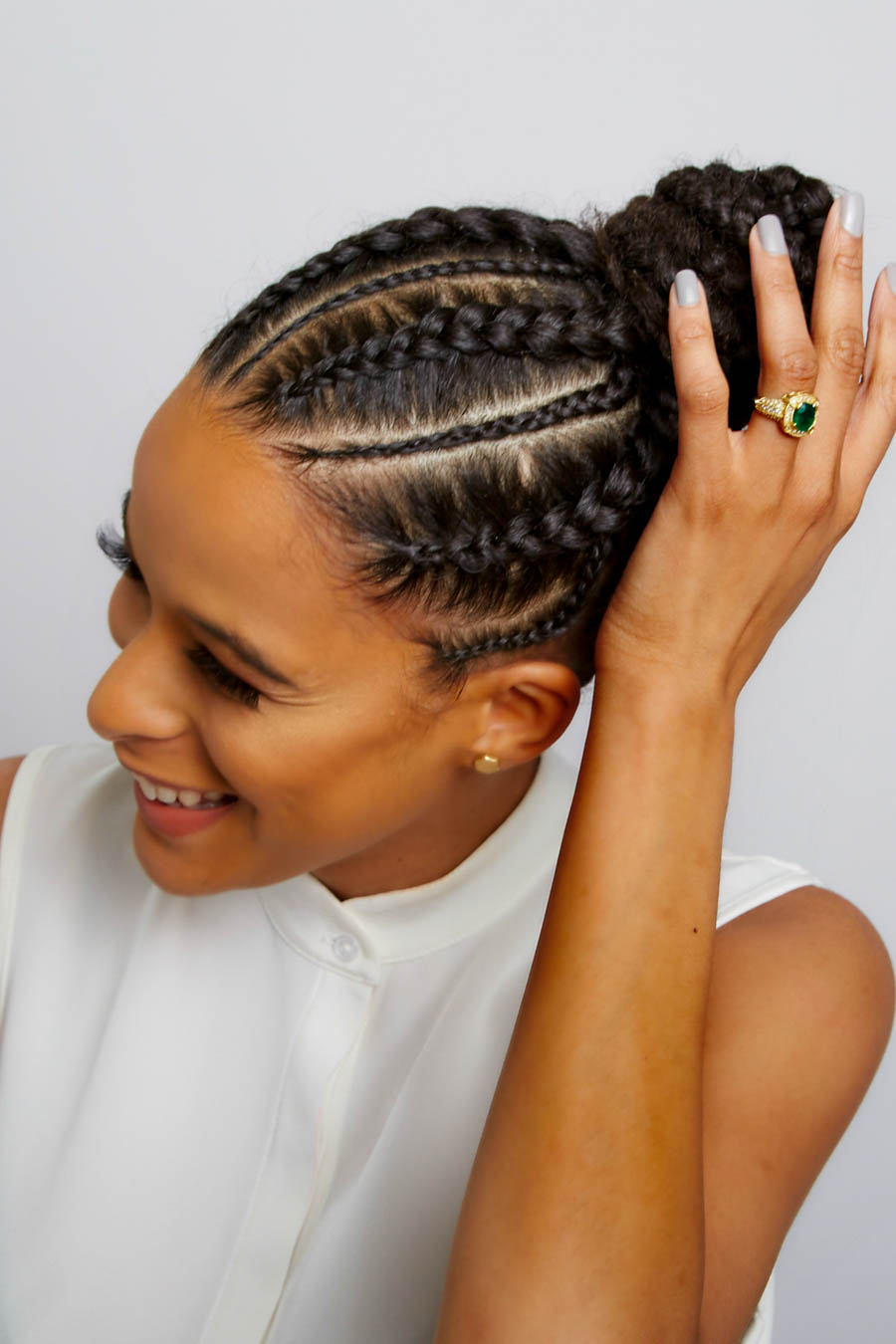 cornrows more than 10 braids yeluchi by un ruly