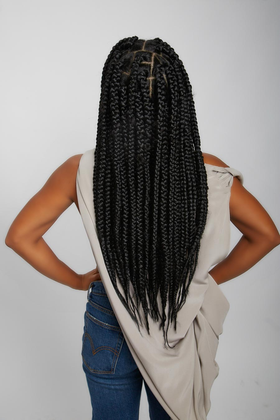 Jumbo Box Braids Yeluchi By Un Ruly
