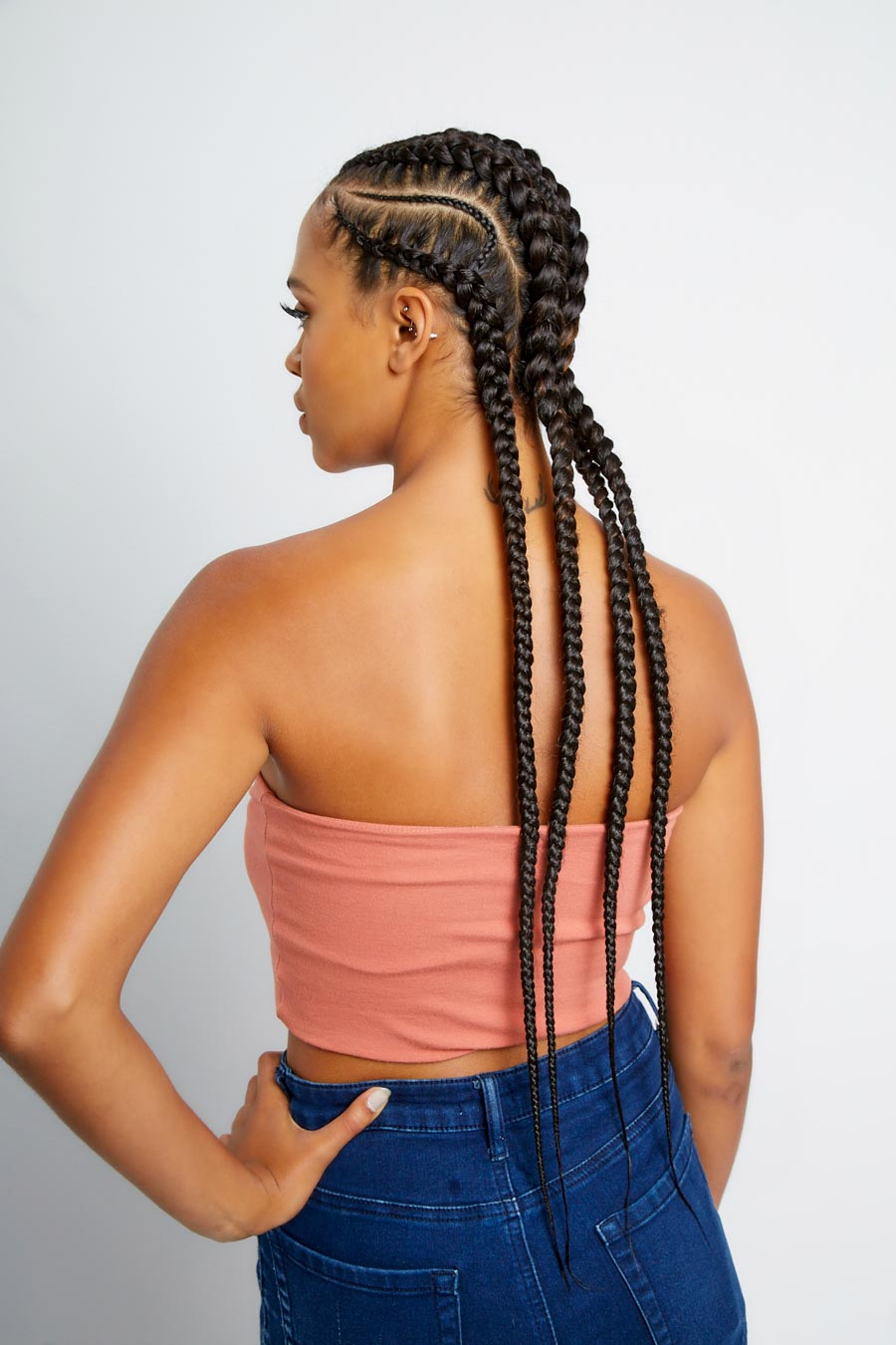 Stitch Braid Cornrows 3 10 Braids Yeluchi By Un Ruly